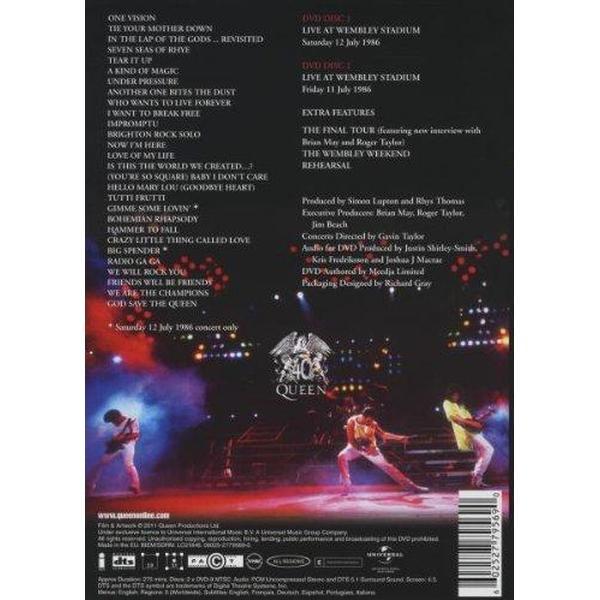 Queen - Live at Wembley Stadium [DVD]